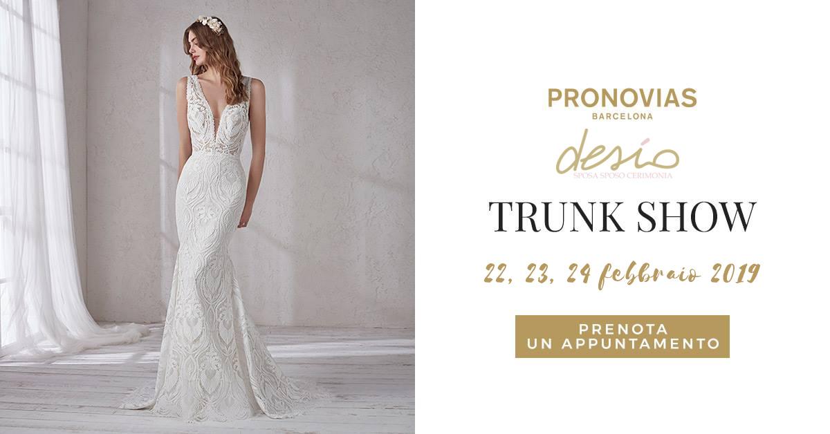 Trunk Show Pronovias 2019