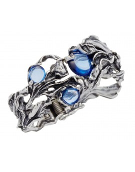 Bracciale Bangle Orchidea Blu Raspini
