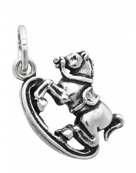 Charm cavallo a dondolo Raspini