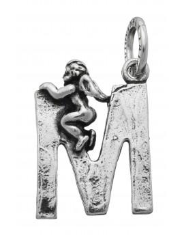 "Charm alfabeto Lettera ""M"" Raspini."