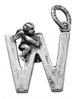 "Charm alfabeto Lettera ""W"" Raspini."