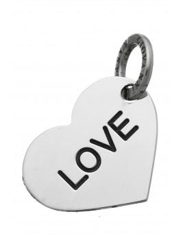 Charm cuore Love Raspini