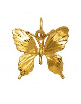 Charm farfalla grande dorata Raspini