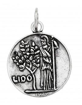 Charm moneta 100 lire Raspini