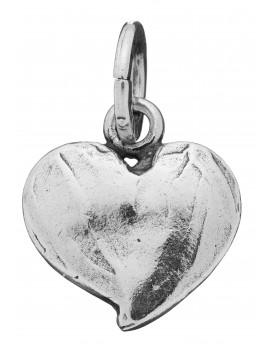 Charm cuore piccolo liscio Raspini