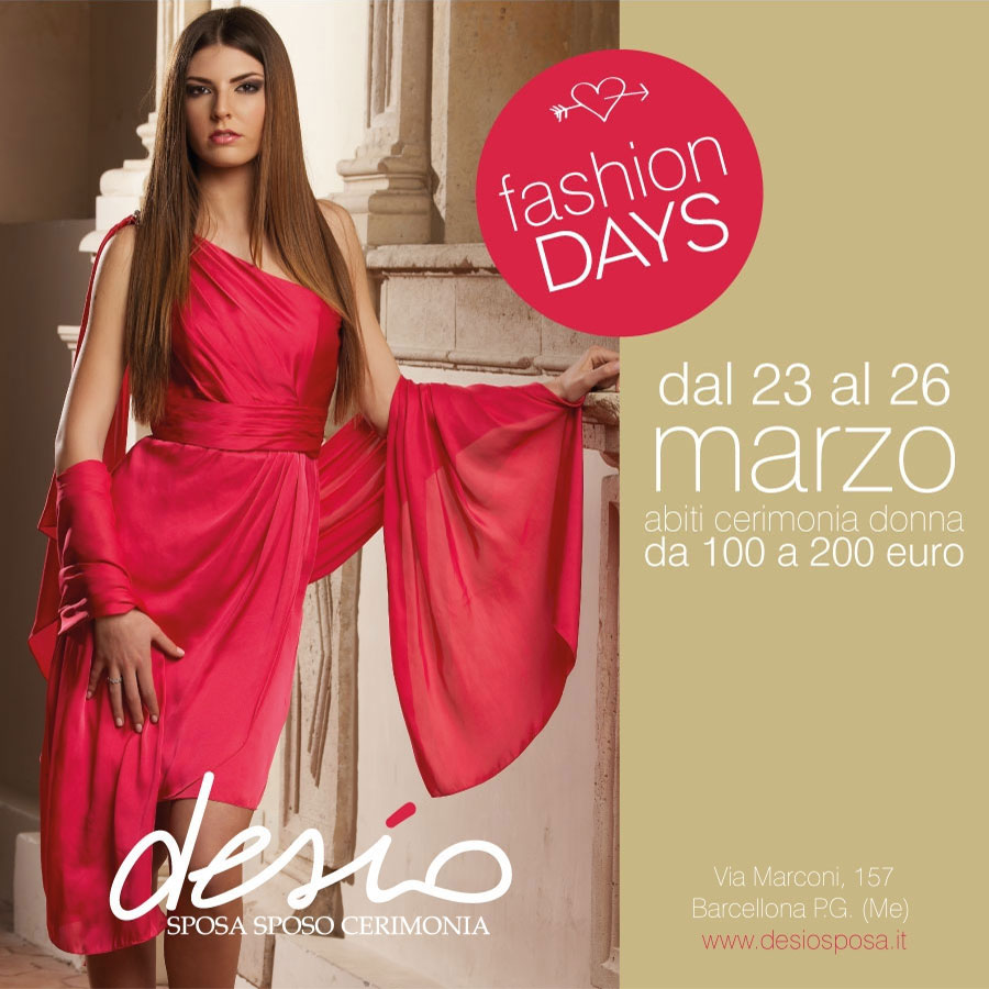 Fashion days Cerimonia