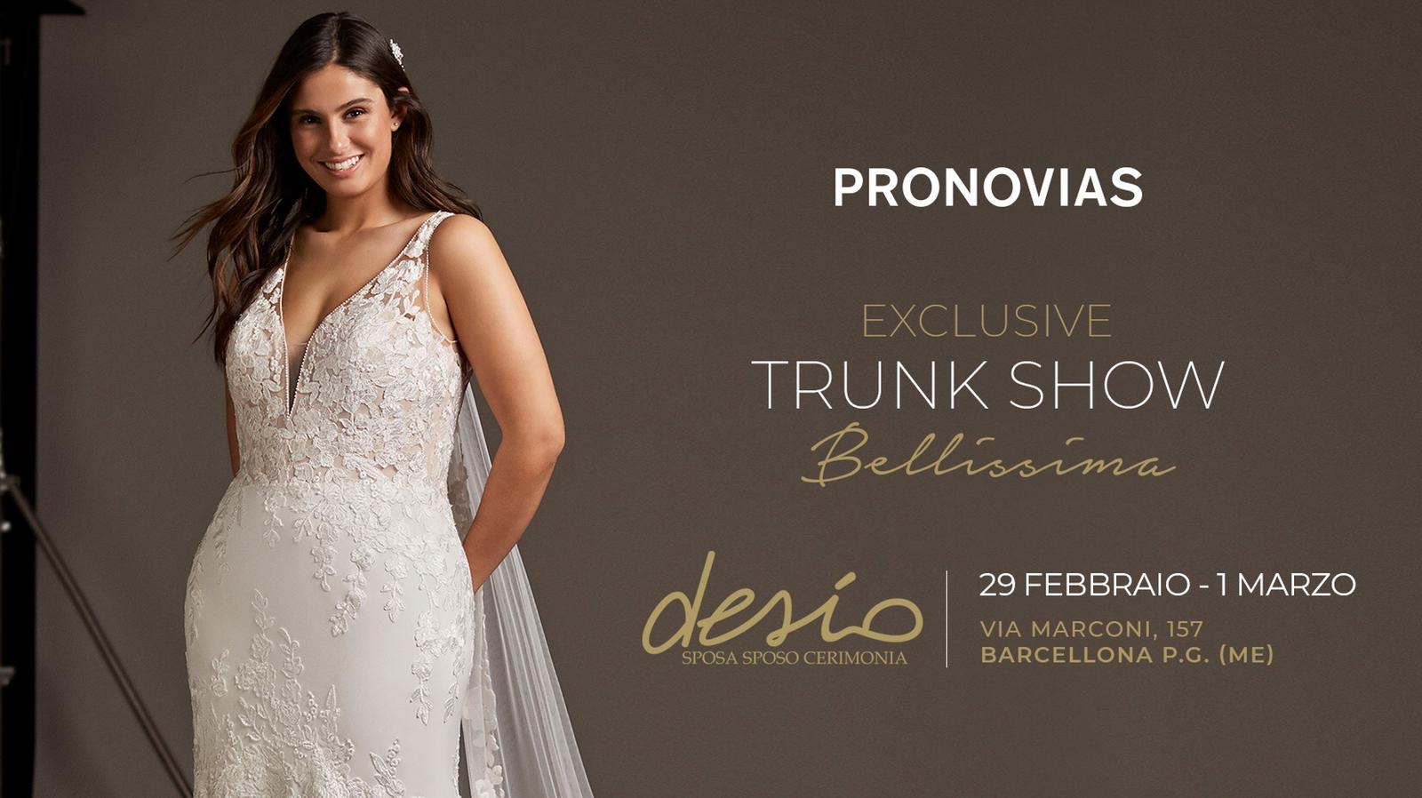 Trunk show bellissima