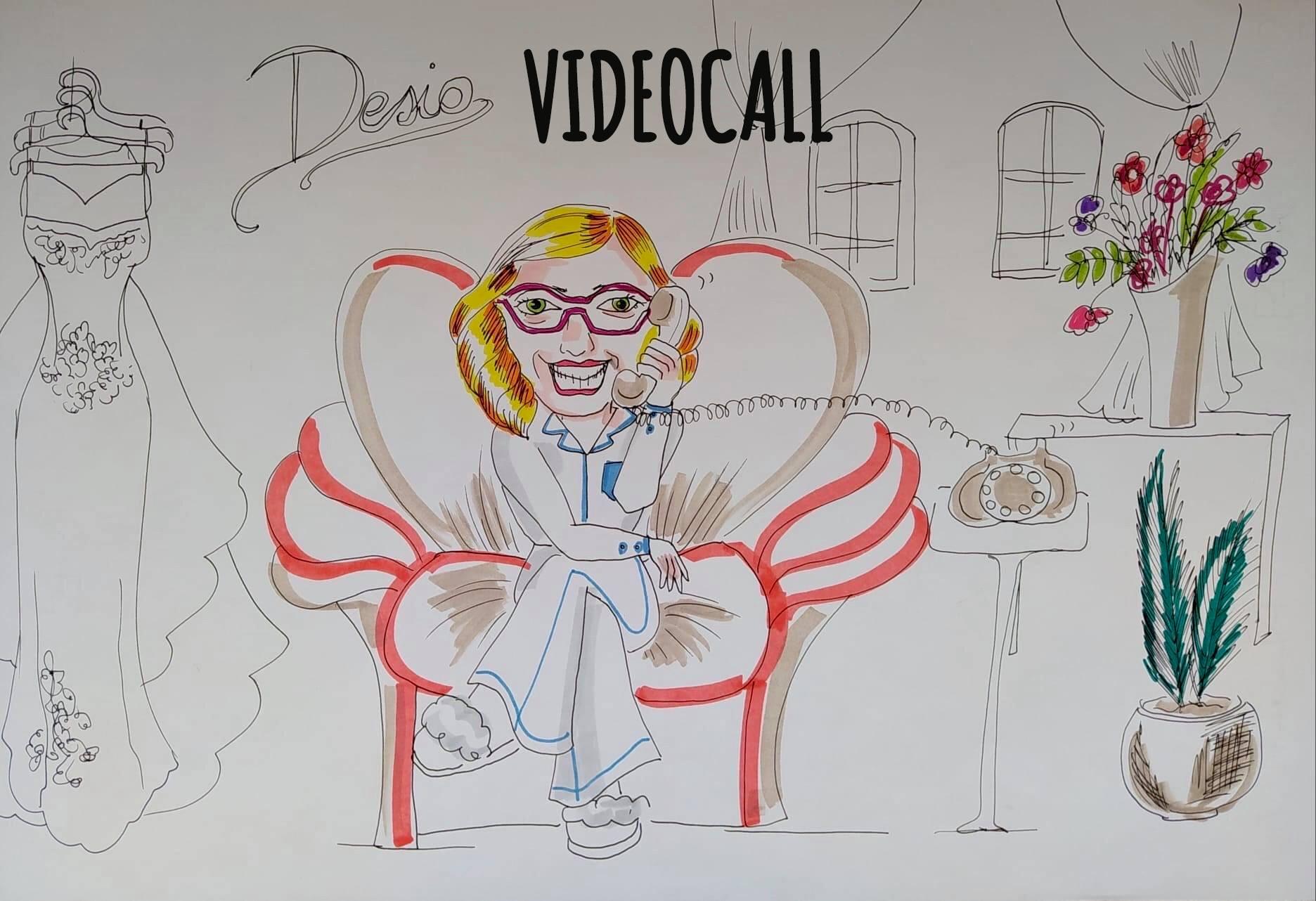 Videocall - Siamo pronte per ricevere la tua videochiamata