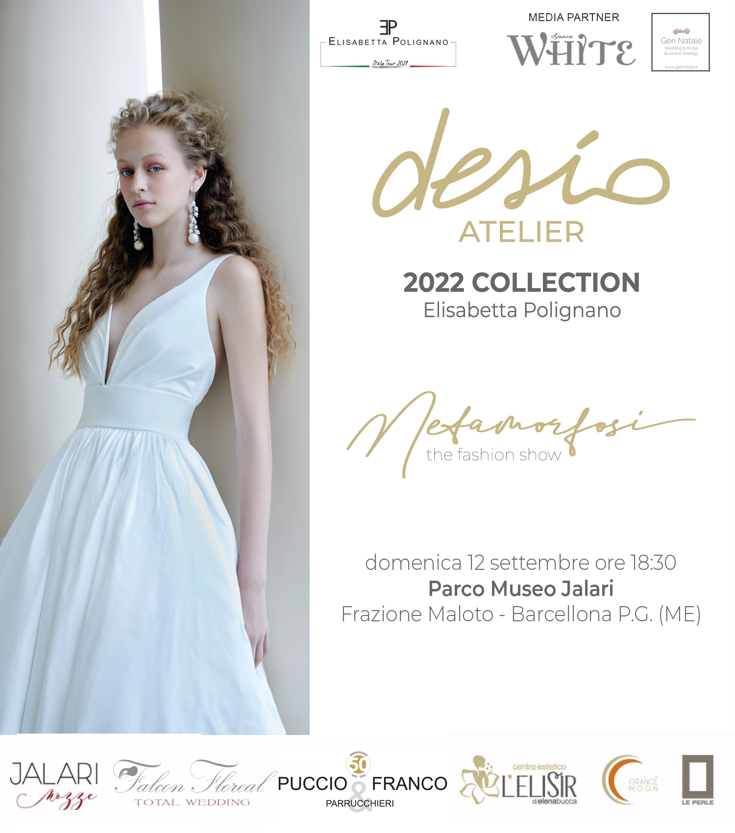 Sfilata collezione 2022 di Elisabetta Polignano